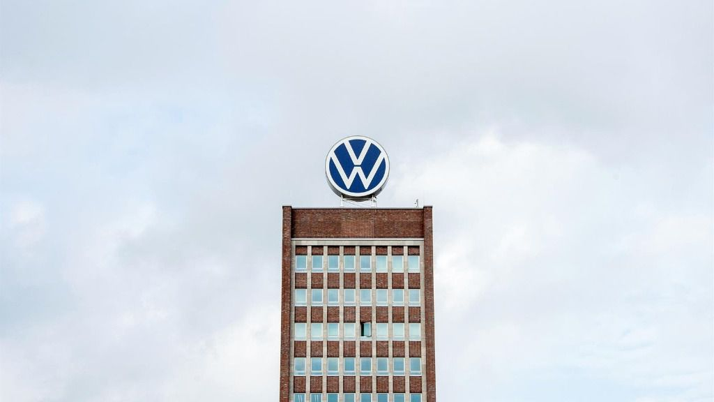 Logo de Volkswagen.