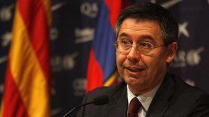 Josep Maria Bartomeu, presidente del F.C. Barcelona