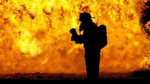 Bomberos fuego incendio