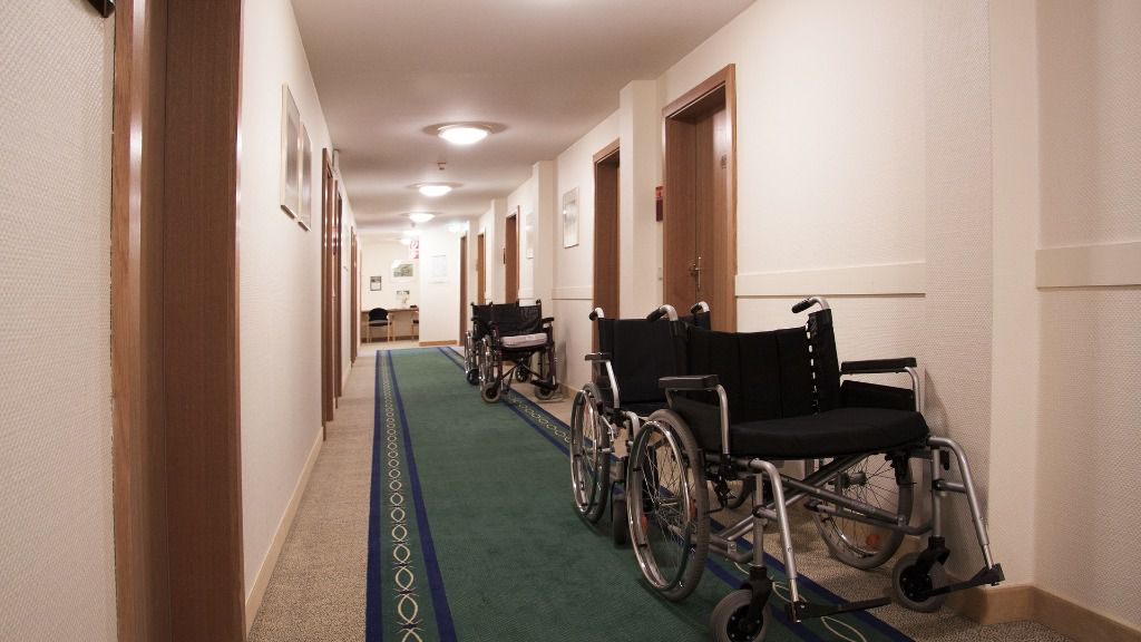 Sillas de ruedas dependencia residencia