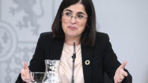 La ministra de Política Territorial y Función Pública, Carolina Darias