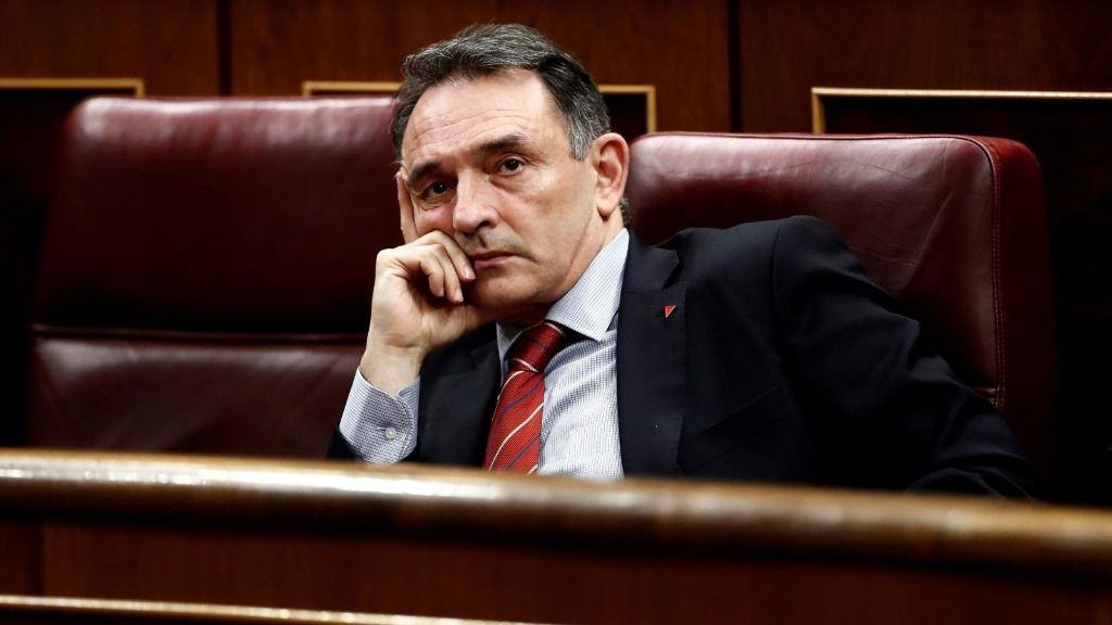 El diputado de Unidas Podemos-En Comú Podem-Galicia en Común, Enrique Santiago