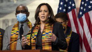 La senadora por California Kamala Harris