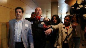 El empresario David Marjaliza, presunto cerebro de la trama 'Púnica', en la Comisión de Investigación sobre corrupción política