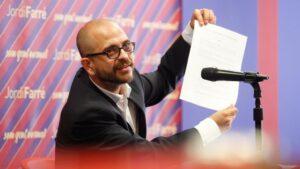 Jordi Farré, precandidato a las elecciones del Barça