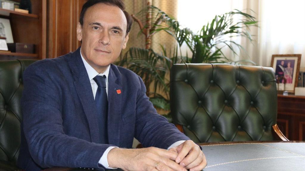 El presidente de la Conferencia de Rectores de Universidades Españolas (CRUE), Juan Carlos Gómez Villamandos