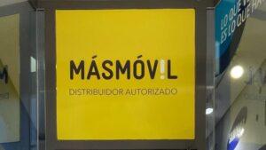 Tienda de MásMóvil en Madrid.