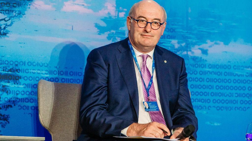 El comisario europeo de Comercio, Phil Hogan