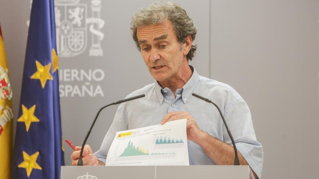 El director del Centro de Coordinación de Alertas y Emergencias Sanitarias (CCAES), Fernando Simón, en Madrid