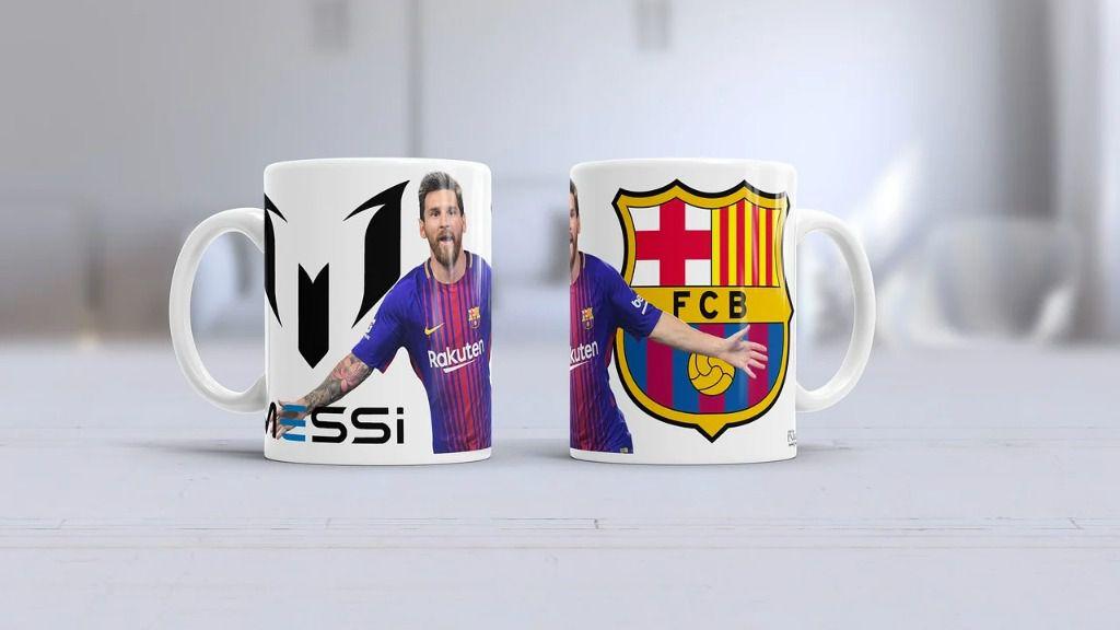 Tazas de Messi