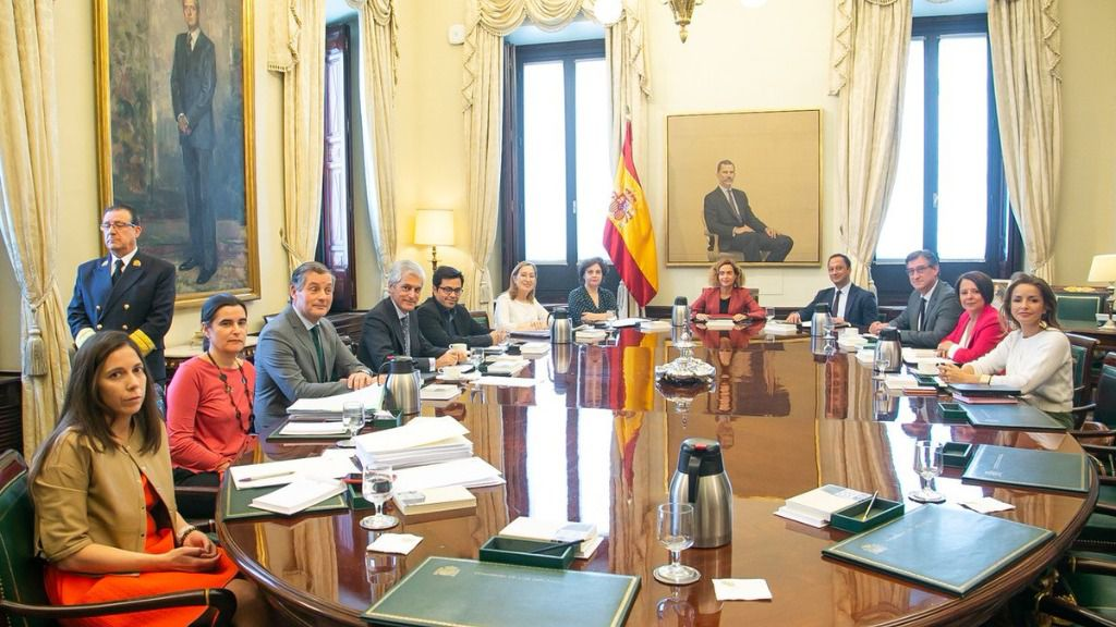 Mesa del Congreso