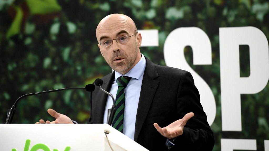 El jefe de la delegación de Vox en el Parlamento Europeo, Jorge Buxadé