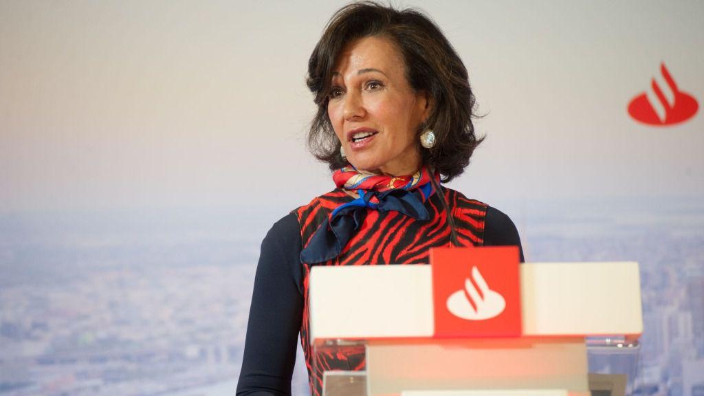 Ana Botín, presidenta de Banco Santander