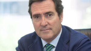 Antonio Garamendi, presidente de CEPYME