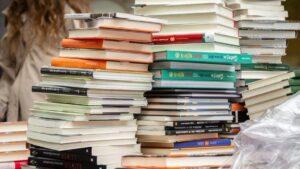 Dia de Sant Jordi en Barcelona libros