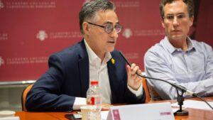 Ramón Tremosa, participa en un debate sobre la transición ecológica en Barcelona, en una imagen de archivo de mayo del 2019
