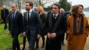 Pablo Casado, José María Aznar, Ana Botella y Alfonso Alonso