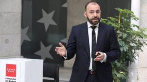 El consejero de Economía, Empleo y Competitividad, Manuel Giménez