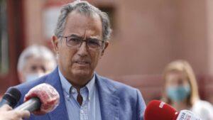 El consejero de Educación y Juventud de la Comunidad de Madrid, Enrique Ossorio,