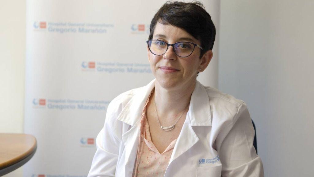 Begoña Santiago, pediatra en el Hospital General Universitario Gregorio Marañón
