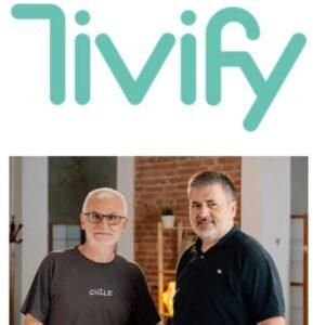Los fundadores de Tivify Francisco Saéz (a la izquierda) y Eudald Domènech