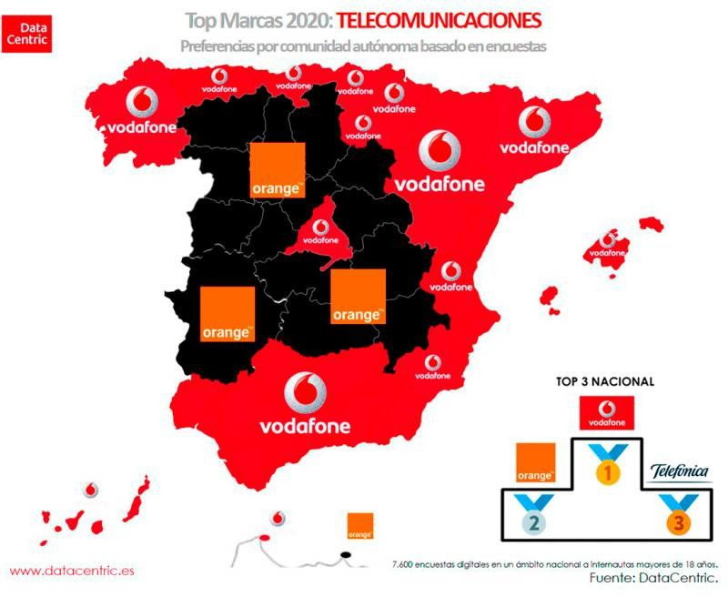 Mapa Telecomunicaciones