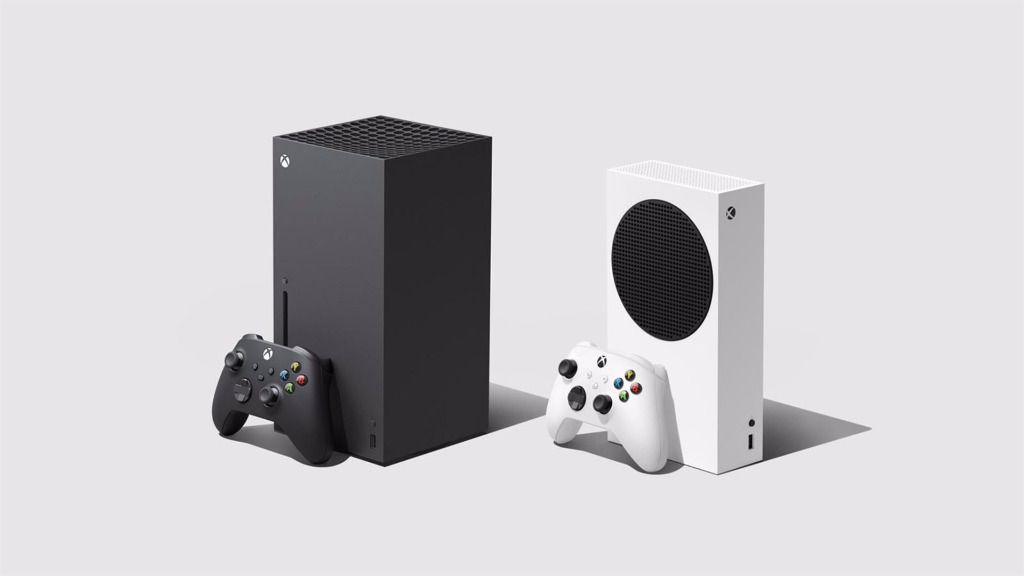 Xbox Series X (izquierda) y Xbox Series S (derecha).