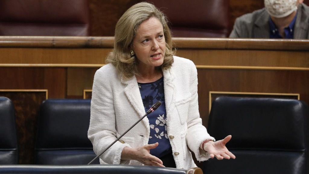 La vicepresidenta tercera y ministra de Asuntos Económicos, Nadia Calviño