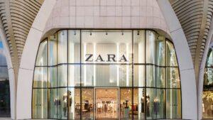 Tienda de Zara (Inditex) en Bruselas