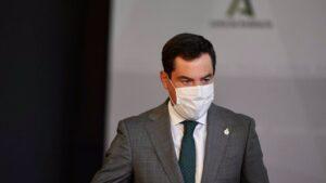 El presidente de la Junta de Andalucía, Juanma Moreno, en una foto de archivo