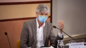 El secretario de Salud Pública de la Generalitat, Josep Maria Argimon