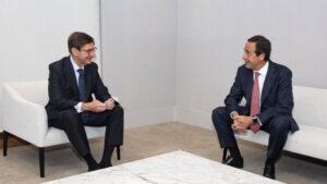 José Ignacio Goirigolzarri y Gonzalo Gortázar caixabank bankia