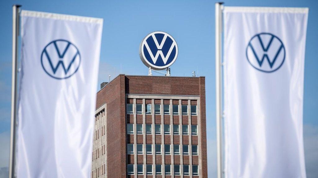 Logo de Volkswagen. - Sina Schuldt/dpa