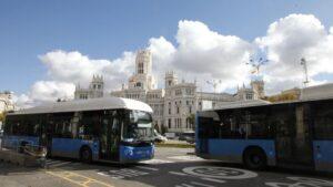 Ayuntamiento de Madrid EMT autobuses