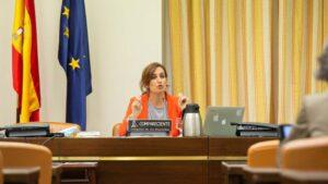 Mónica García, médica y diputada de Más Madrid en la Asamblea de Madrid