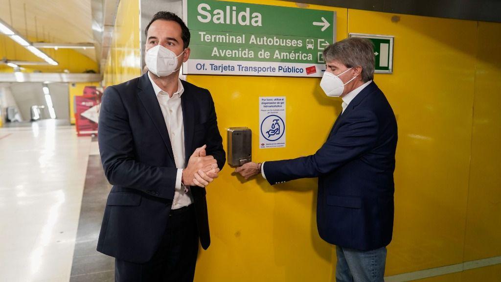 Ignacio Aguado y Ángel Garrido