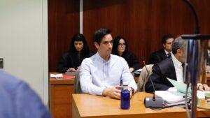El acusado por el 'crimen de los tirantes', Rodrigo Lanza - Fabián Simón