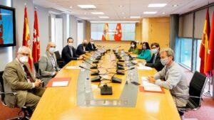 Imagen de la reunión Grupo Covid