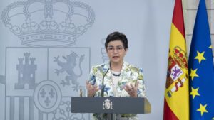 La ministra de Asuntos Exteriores, UE y Cooperación, Arancha González Laya