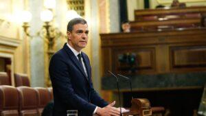 El presidente del Gobierno, Pedro Sánchez, defiende la solicitud de prórroga del estado de alarma hasta el 21 de junio