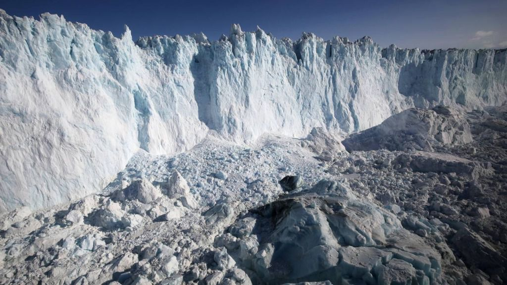 Límite de la capa de hielo de Groenlandia