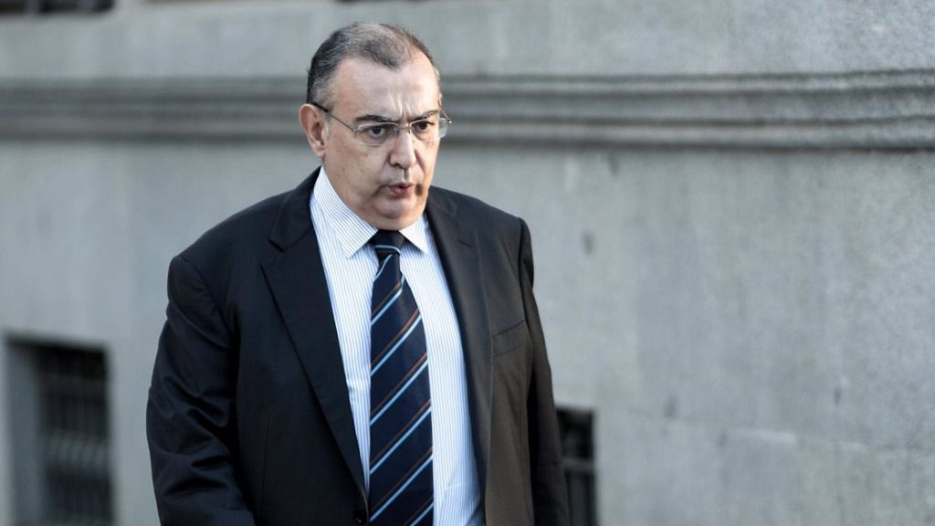 El que fuera jefe de la Unidad Central de Apoyo Operativo (UCAO) de la Policía Nacional, Enrique García Castaño, a su llegada a la Audiencia Nacional en 2019