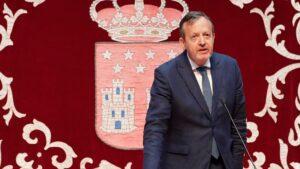Alberto Reyero, consejero de de Políticas Sociales, Familias, Igualdad y Natalidad
