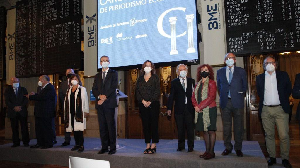 Tercer Premio Carlos Humanes de Periodismo Económico a la periodista Rosa María Sánchez