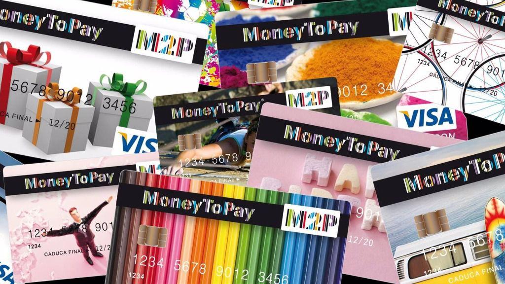 Tarjetas de MoneyToPay
