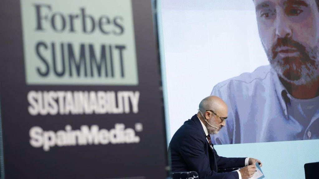 El CEO de Aquaservice, Alberto Gutiérrez, en la segunda edición del Forbes Summit Sustainability