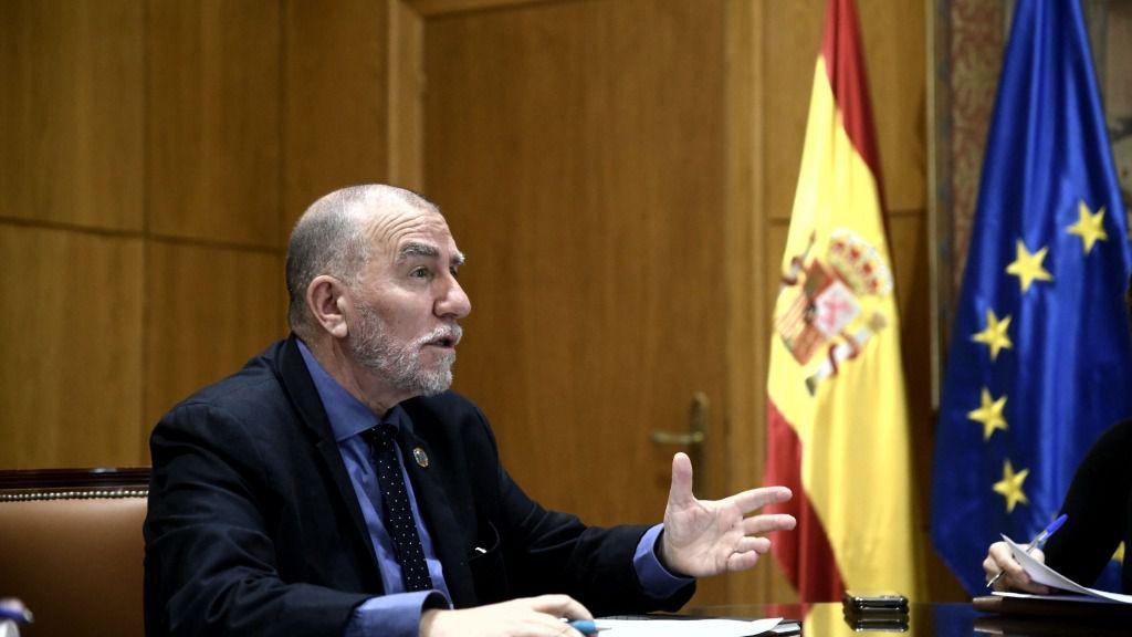 El director de la Oficina de la Organización Internacional del Trabajo (OIT) para España, Joaquín Nieto