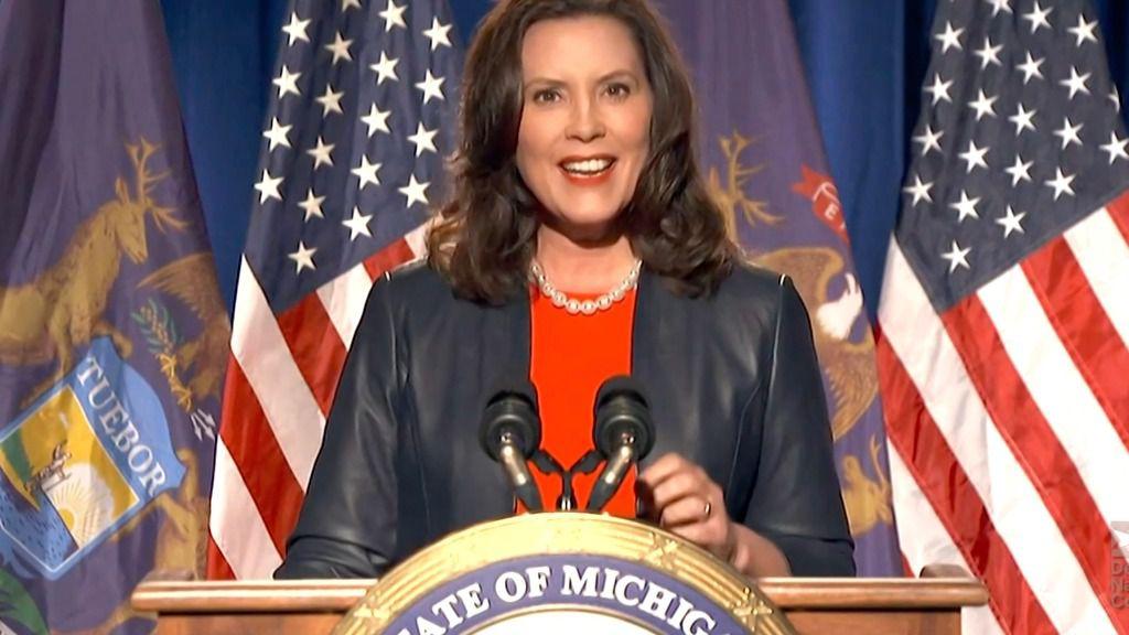 La gobernadora demócrata del Estado de Míchigan, Gretchen Whitmer