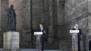 Pedro Sánchez y António Costa