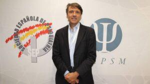 Celso Arango, presidente de la Sociedad Española de Psiquiatría